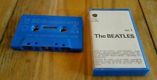 THE BEATLES WHITE ALBUM Vol.1 Apple EMI Italy cassette blue