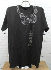 New Skullcandy Mens Phones T-Shirt Short Sleeve Medium Black