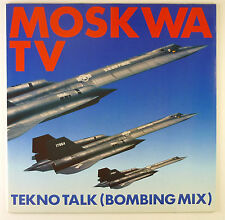 "12"" Maxi - Moskwa TV - Tekno Talk (Bombing Mix) - B1784 - washed & cleaned"