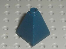 LEGO NavyBlue Slope brick Quadruple Convex ref 3688 / set 7036 7037 7094