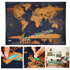 Póster Grande Deluxe Global Travel Constelaciones Star World Mapa Chic Regalo