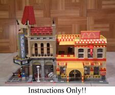 GET 100+ CUSTOM LEGO  INSTRUCTIONS like MANY RESTAURANTS for 10232 Palace Cinema
