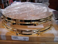 """New Ludwig Brass Die Cast Snare Drum Hoops, 14""""-10 Hole/Lug, Worldwide Shipping"""