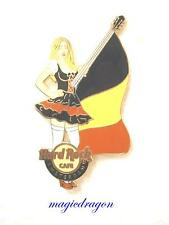Hard Rock Cafe Amsterdam MilkMaid Series Belgium Flag Pin .