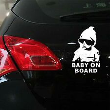 """Baby On Board "" Car Auto Vinyl Rear Window Door Safety Warning Decal Sticker"