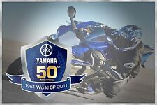 YAMAHA 50TH ANNIVERSARY M1 R1 R6 R3 YEC FZ6 FZ8 FZ1 TMAX MT XT XSR BADGE DECALS