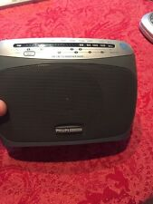 Philips AE2155 WeatherBand/AM/FM/analog TV (non HD) Portable Radio. EXCELLENT