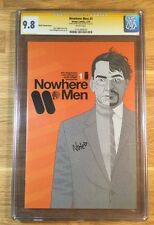 Nowhere Men 1, CBLDF Variant, CGC 9.8 SS, Signed by Nate Bellegarde, NM/MT