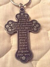 Trust In The Lord With All Your Heart - Every Day - Guide You -  Key Chain - B65