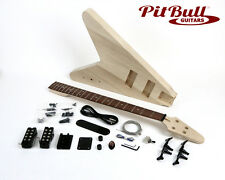 Pit Bull Guitars FVB-4 Electric Bass Guitar Kit