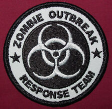 ZOMBIE HUNTER PATCH EMBROIDERED IRON ON 3 INCH PATCH
