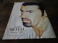 GEORGE MICHAEL - Publicité de magazine / Advert !!! JESUS TO A CHILD !!! UK
