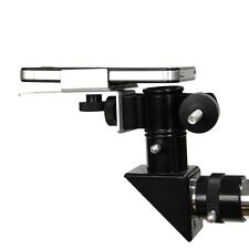 Hot!!! Universal Mobile Phone Clamp Holder Connect to Telescope Microscope+Track