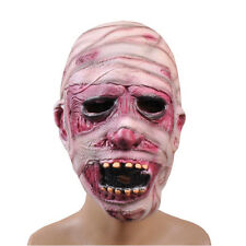 Deluxe Zombie Latex Overhead Collector Mask Mens Halloween Monster Costume SCARY