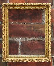 "C19th Carved Giltwood Picture Frame. Sight Size: 9 7/8"" x 7 5/8"". Finely Carved."