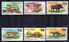 Animaux Faune sauvage Philippines (33) série complète 6 timbres oblitérés