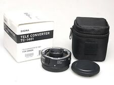 Sigma TC-1401 1.4x Tele Converter f. Canon