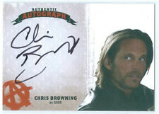 """CHRIS BROWNING """"GOGO AUTOGRAPH CARD"""" SONS OF ANARCHY SEASONS 4-5"""