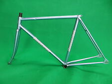 Bridgestone Sky Blue Metallic NJS Approved Keirin Frame Track Bike Fixed Gear