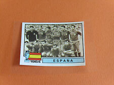 N°4 ESPAÑA 1964 ESPAGNE RECUPERATION PANINI FRANCE EURO 84 FOOTBALL 1984