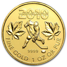 2010 1 oz Gold Canadian Maple Leaf Coin - Vancouver Olympics - SKU #52886