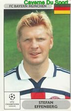 218 STEFAN EFFENBERG GERMANY BAYERN MUNCHEN STICKER PANINI CHAMPIONS LEAGUE 2001