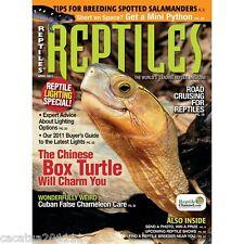 Stock limitado: los Reptiles-Back problema de abril de 2011