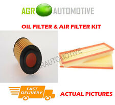 PETROL SERVICE KIT OIL AIR FILTER FOR MERCEDES-BENZ C240 2.6 170 BHP 2002-05