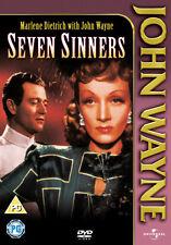 JOHN WAYNE - SEVEN SINNERS - DVD - REGION 2 UK