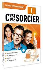 """26280//DVD C'EST PAS SORCIER -LA SANTE VIENT EN MANGEANT NEUF DEBALLE 4 X 26"""""""