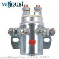 440 Amp 10,000 watt 24 volt DP DT relay 4 wind turbine solar charge controllers