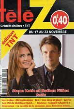 TELE Z N°1575 stana katic nathan fillion