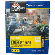 1 - Mountain House Freeze Dried Food Pouch - Spicy Southwest Breakfast Hash- NEW