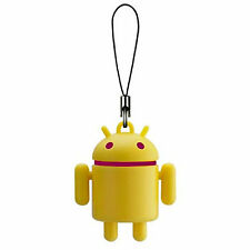 Android Robot Colors Mascot Portachiave Keychain Swing Giallo Yellow Bandai