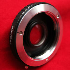 Minolta MD MC lens to Nikon DSLR Lens Adapter Focus Infinity
