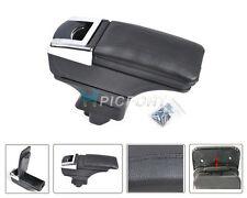 STORAGE BOX ARMREST CENTRE CONSOLE Fit 07~11 NISSAN VERSA/ TIIDA / LATIO LEATHER