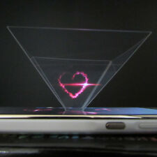 3D Holographic Display Pyramid Stand Projector for 3.5''~6.5'' Cell Phone Vogue