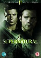 SUPERNATURAL Stagione 11 Serie Completa BOX 6 DVD in Inglese NEW .cp