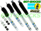 BILSTEIN 24-186643/24-186742 FRONT/REAR 5100 SERIES SHOCK KIT 99-06 GM 1500 4WD