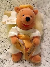 "New Disney Mini Bean Bag Choir Angel Pooh 8"" Winnie The Pooh Christmas 2000"