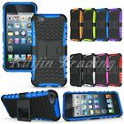 For Apple iPod Touch 5 5th Gen Hybrid Impact Armor Rugged Hard Case Cover
