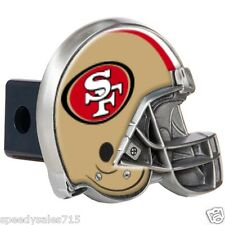 "NFL San Francisco 49ers Trailer Hitch Cover Towing 2"" Receiver New Free Shipping"