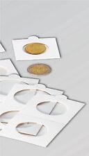 50 AUTOADESIVO 5.1cmx5.1cm monete CONTENITORI - 35mm - NUOVO