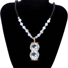 Women's Vintage Fashion Jewelry Hot Charm Crystal Pendant Necklace NEW  D5