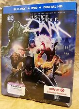 DC JUSTICE LEAGUE DARK Blu-Ray Batman Target Exclusive Limited Edition STEELBOOK