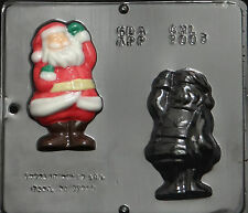 "Santa Claus Assembly 4 1/2"" Chocolate Candy Mold Christmas 2003 NEW"