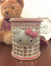Bling Hello Kitty Crystal Diamond Pen or Brushes Holder! Best Gift Idea!