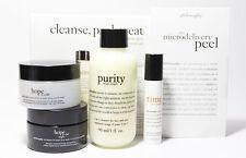 Philosophy Purity / Hope In a Jar Cleanse, Peel, Treat Trial Set MFD10/2014