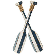 Nautical  Double Oar Wooden_Rustic_Nautical Decor - Beach Cottage Wall Decor