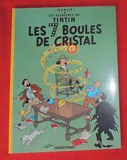Tintin. Les 7 Boules de Cristal. Edition TOTAL de 1999. Album broché - Neuf
